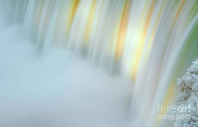Ice Festival Photograph - Niagara Falls In Twilight by Charline Xia