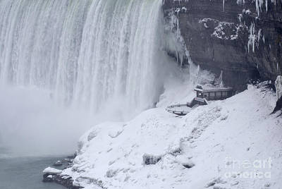 Photograph - Niagara Falls In Winter by JT Lewis