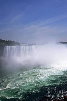 Photograph - Niagara Falls by Jola Martysz