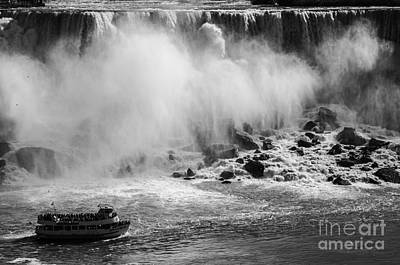 Photograph - Niagara Falls New York by JT Lewis