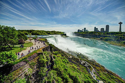 Photograph - Niagara Falls - New York State by Tony Shi Photography