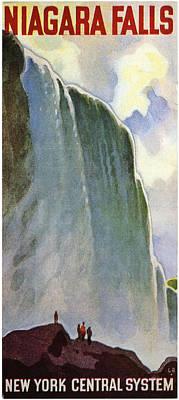 Niagara Falls Print by Georgia Fowler