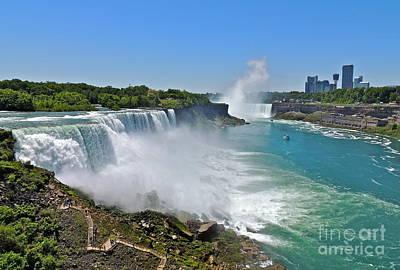 Photograph - Niagara Falls Ny by Eve Spring