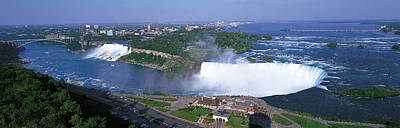 Noise Photograph - Niagara Falls Ontario Canada by Panoramic Images