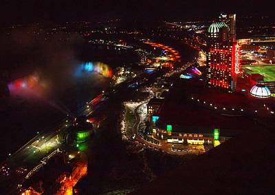 Niagara Falls Overview Art Print by Robert Watcher