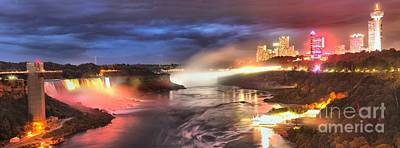 Photograph - Niagara Falls Panorama by Adam Jewell