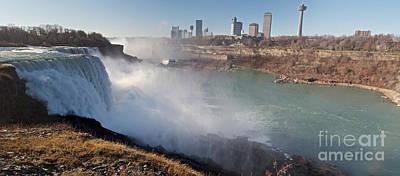 Niagara Falls Panorama Art Print