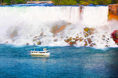 Photograph - Niagara Falls Series 03 by Carlos Diaz