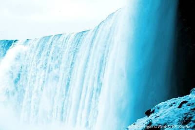 Photograph - Niagara Falls ..so Blue by Al Fritz