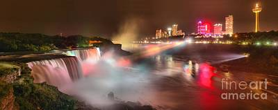 Photograph - Niagara Falls Stunning Panorama by Adam Jewell