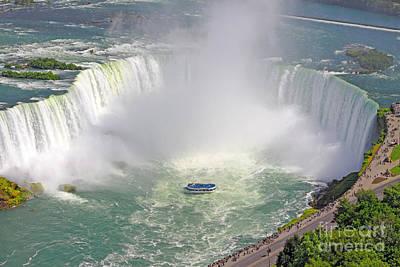 Niagara Falls Summer Art Print