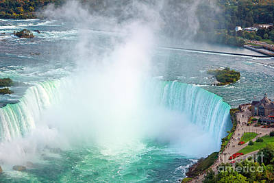 Photograph - Niagara Falls The Wonder by Charline Xia