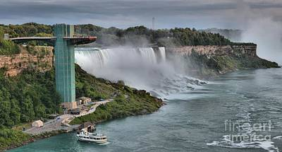 Photograph - Niagara Falls Us Viewing Tower by Adam Jewell
