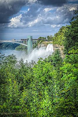 Photograph - Niagara Falls Usa by LeeAnn McLaneGoetz McLaneGoetzStudioLLCcom
