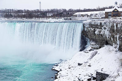 Niagara Falls Winter Art Print