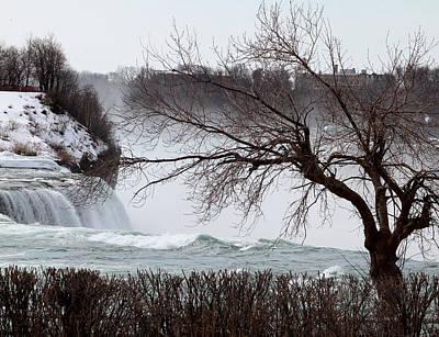 Niagara In Winter Art Print