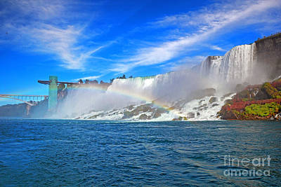 Photograph - Niagara Landmarks by Charline Xia