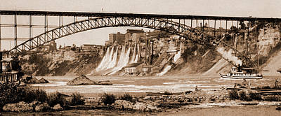 Steel Drawing - Niagara, Mills And Grand Trunk I.e by Litz Collection
