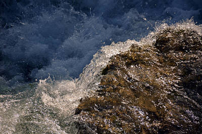 Mountain Landscape Rights Managed Images - Niagara Rapids Royalty-Free Image by John Carocci