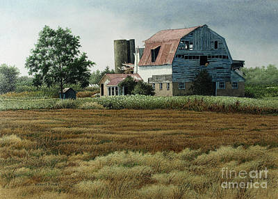 Painting - Niagara Region Farm II by Robert Hinves