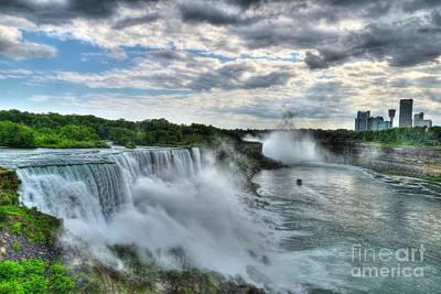International Border Photograph - Niagara River Gorge 2 by Mel Steinhauer