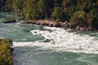 Niagara River Rapids Art Print by Marek Poplawski