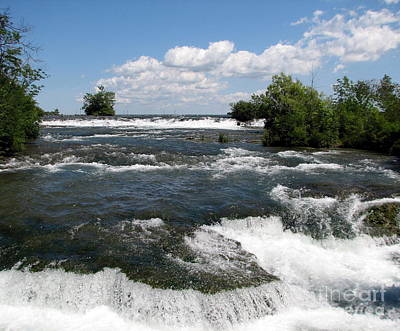 Photograph - Niagara River Rapids by Rose Santuci-Sofranko