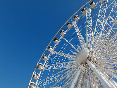 Niagara Sky Wheel Art Print by Rob Amend