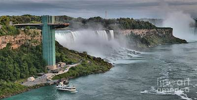 Photograph - Niagara Us Viewing Tower Panorama by Adam Jewell