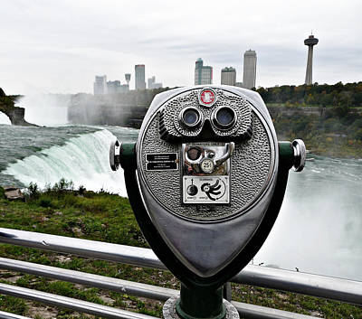 Photograph - Niagara Vigil by Richard Reeve