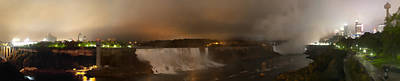Photograph - Niagra Falls At Night by Gregory Scott
