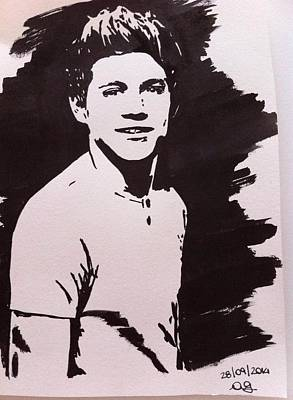 Niall Drawing - Niall Horan Drawing. by Giorgia Ascia
