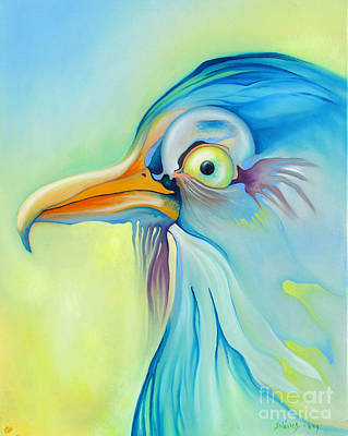 Painting - Nice Bird by Alexa Szlavics