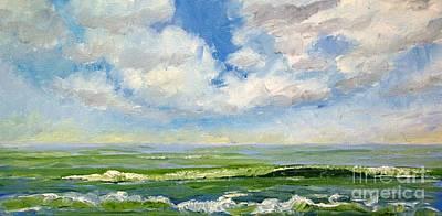 Painting - Nice Break by Keith Wilkie