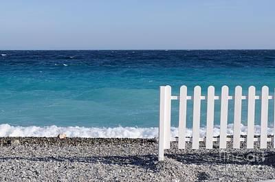 Photograph - Nice Mediterranean Beach by Haleh Mahbod