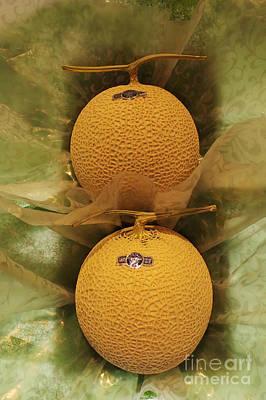 Nice Melons Art Print by David Bearden