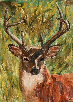 Painting - Nice Rack by Alan Mager
