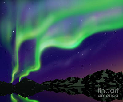 Phenomenon Digital Art - Nice Sky by Atiketta Sangasaeng