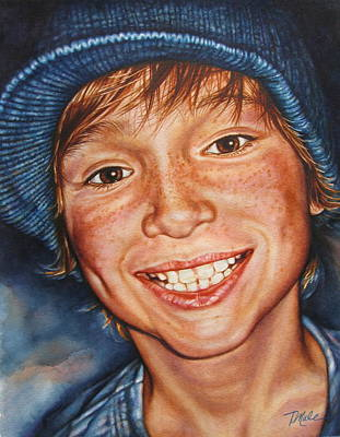 Painting - Nicholas by Tracy Male