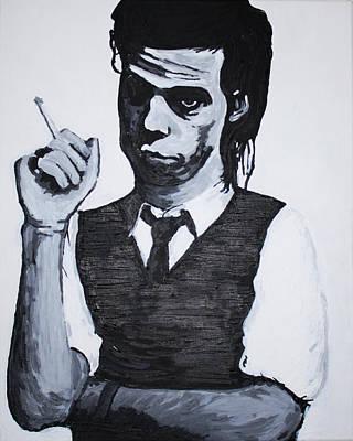 Nick Cave Painting - Nick Cave by Bridget Brummel