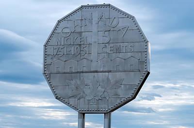 Nickel Monument Art Print by Marek Poplawski