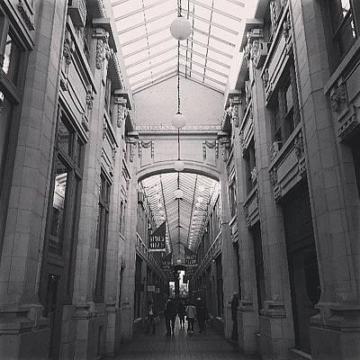 Wall Art - Photograph - Nickels Arcade 1918. Ann Arbor, Mi by Jill Tuinier