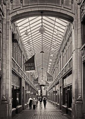 Photograph - Nickels Arcade by James Howe