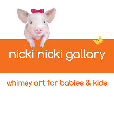 Painting - Nicki Nicki Gallery New Logo  by Junko Van Norman