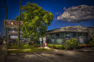 Nicko's Fine Foods Art Print by Marvin Spates