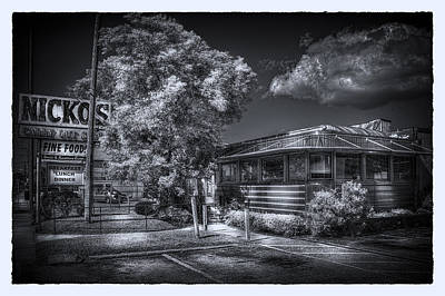 Photograph - Nicko's Restaurant by Marvin Spates