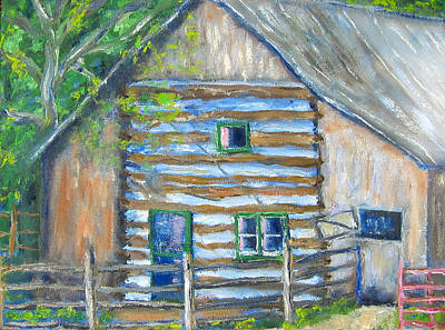Painting - Nick's Barn by Kathryn Barry