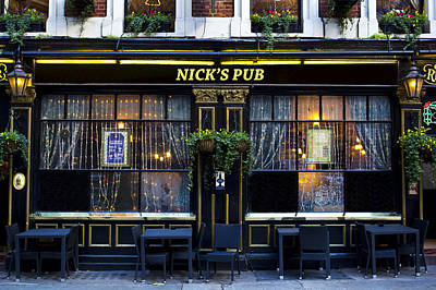 Photograph - Nick's Pub by David Pyatt
