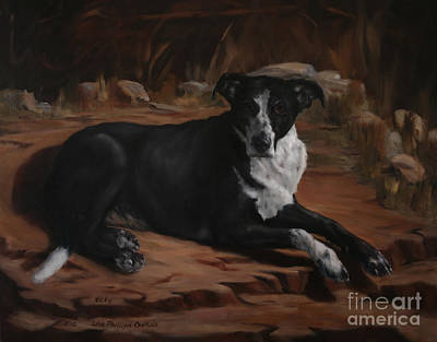 Nicky Art Print by Lisa Phillips Owens
