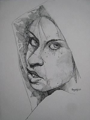Painting - Nicla by Ray Agius